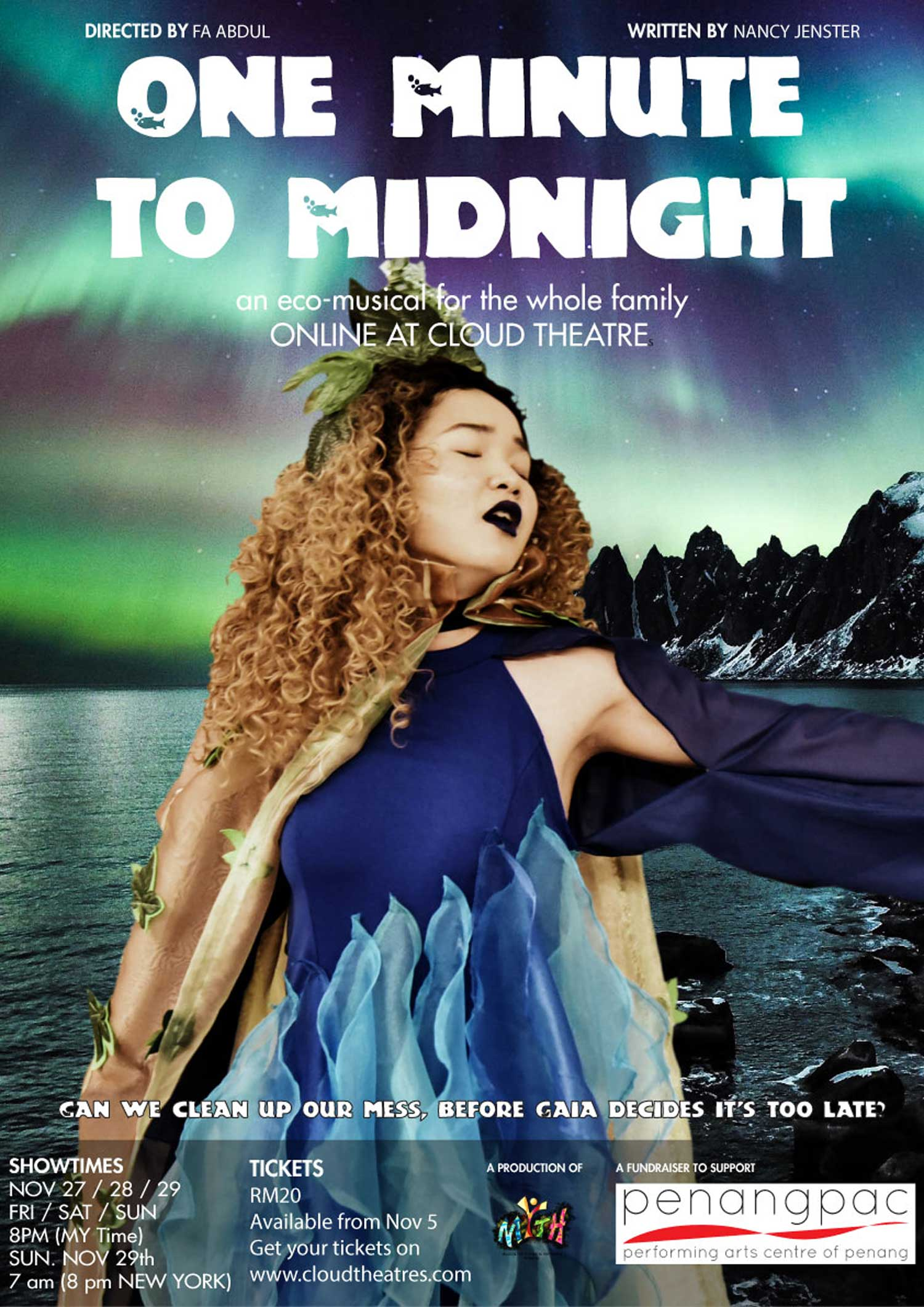 One Minute To Midnight, An Eco – Musical for the Whole Family