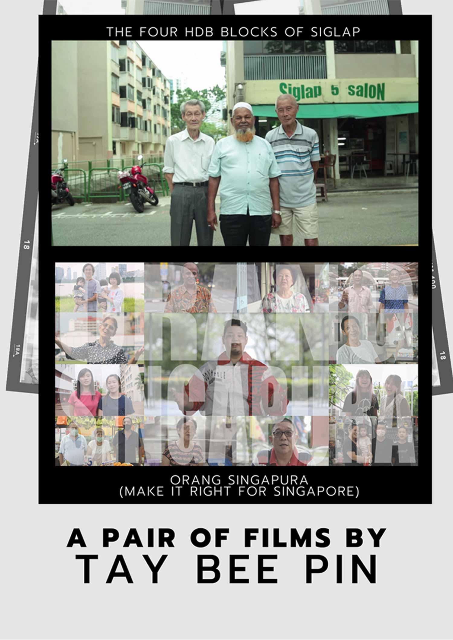 The Four HDB Blocks of Siglap + Orang Singapura (FreedomFilmFest 2020)