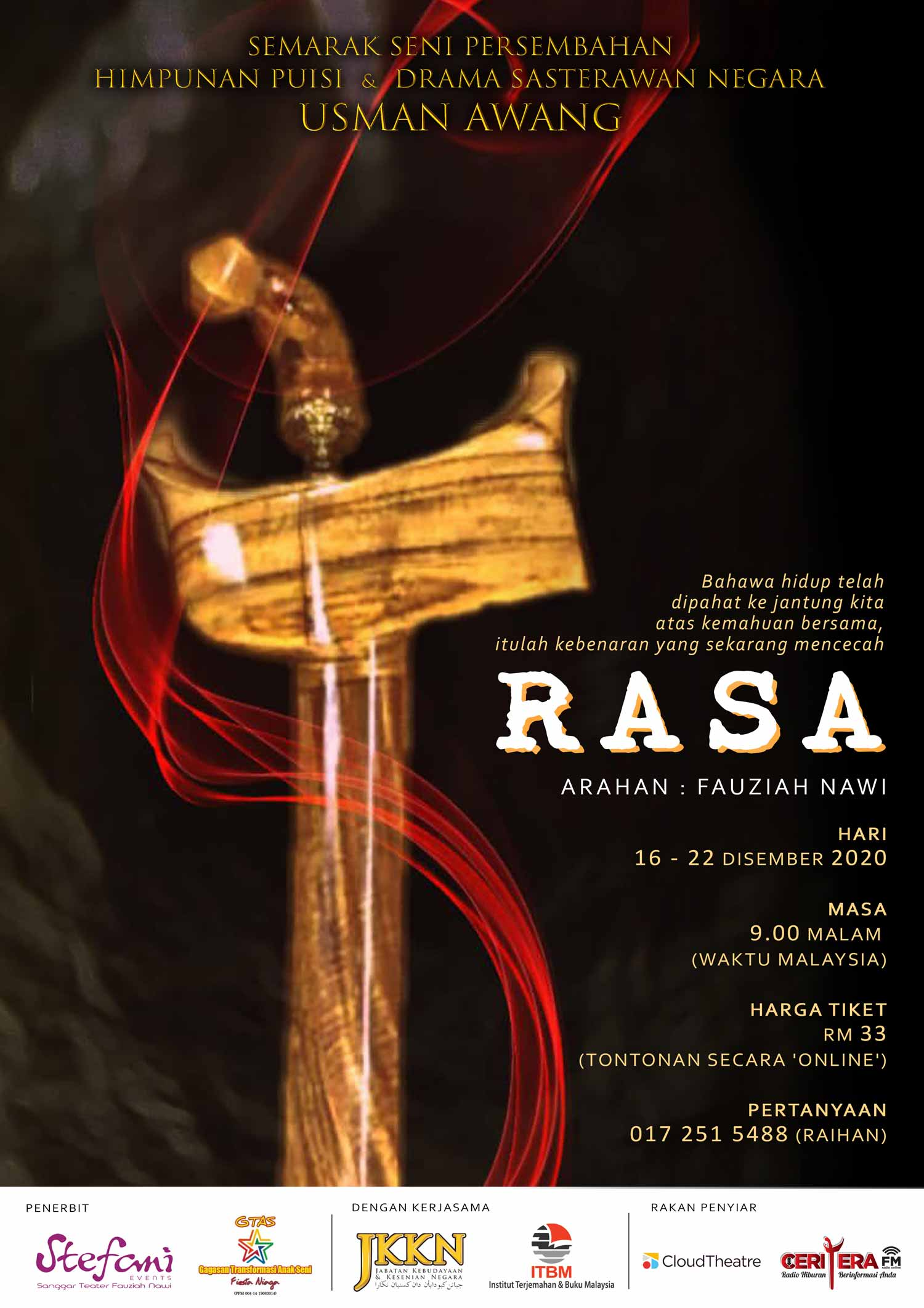 RASA (with English Subtitle & Sign Language)