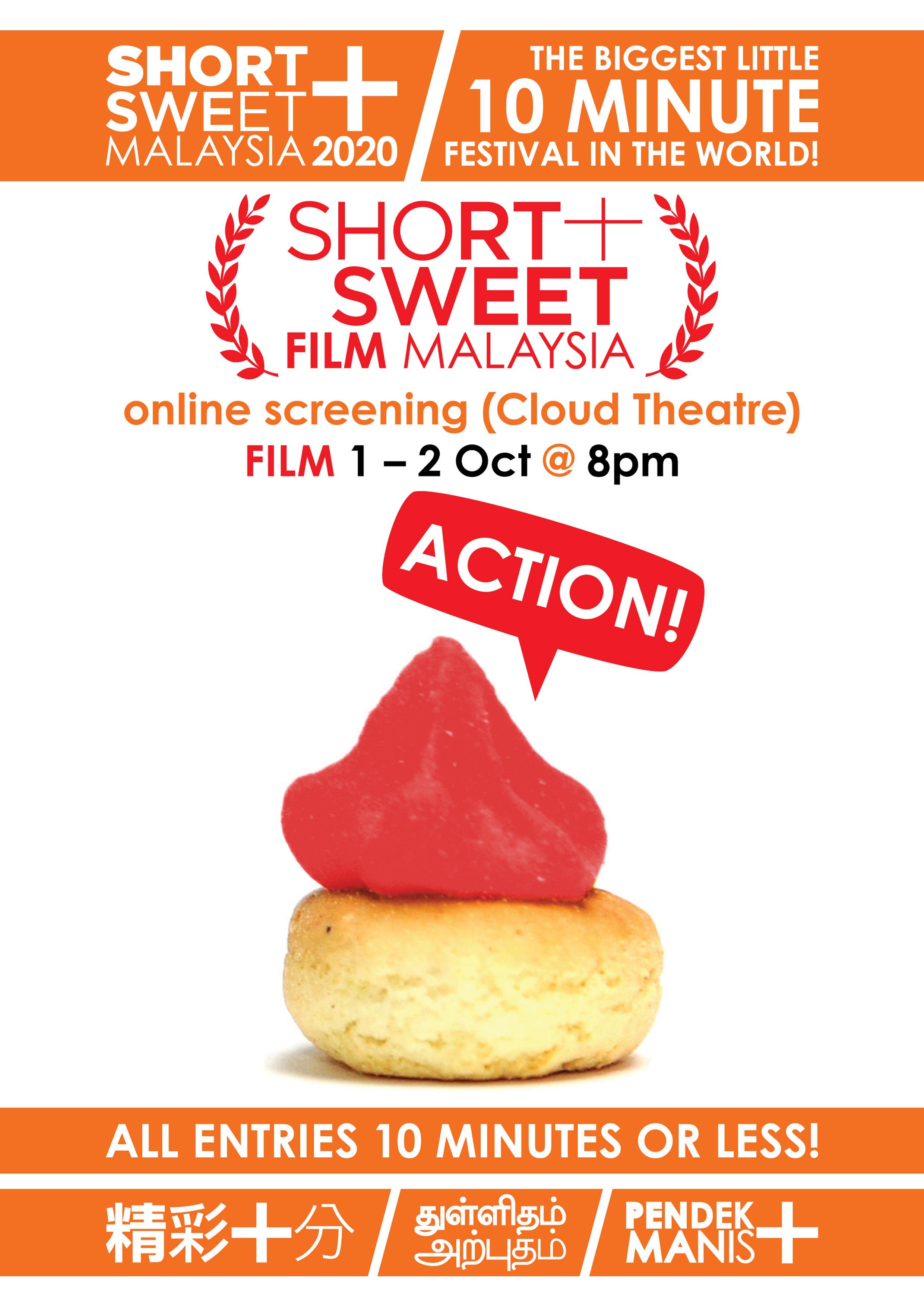 SHORT+SWEET MALAYSIA 2020: FILM (KL)