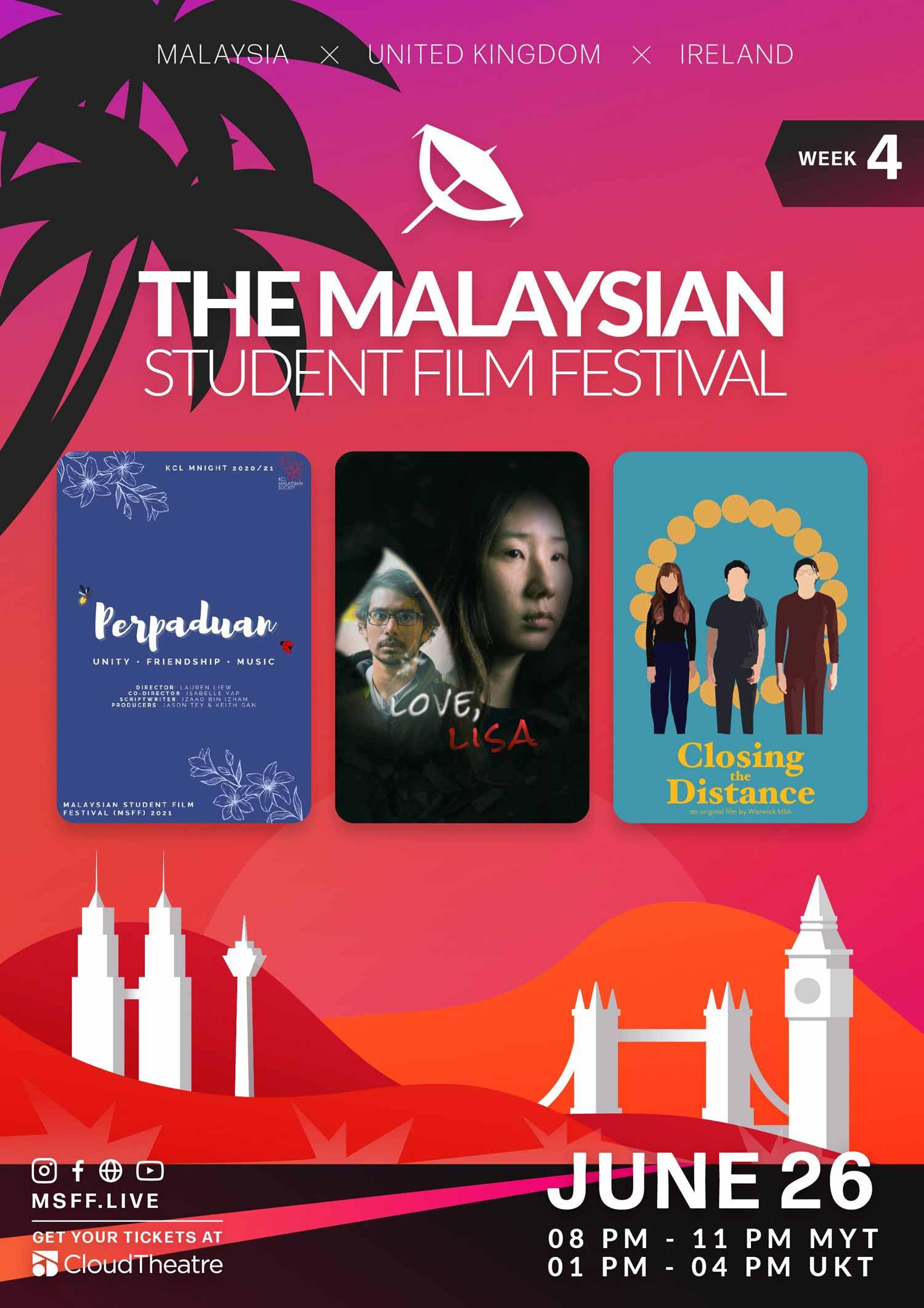 Week 4: Malaysian Student Film Festival