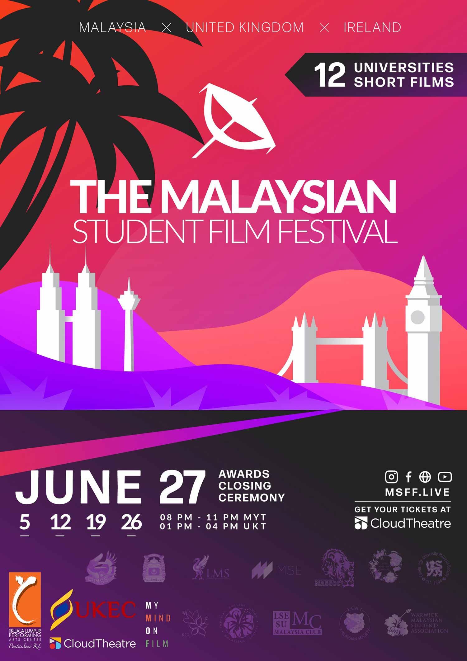 Awards Closing Ceremony: Malaysian Student Film Festival