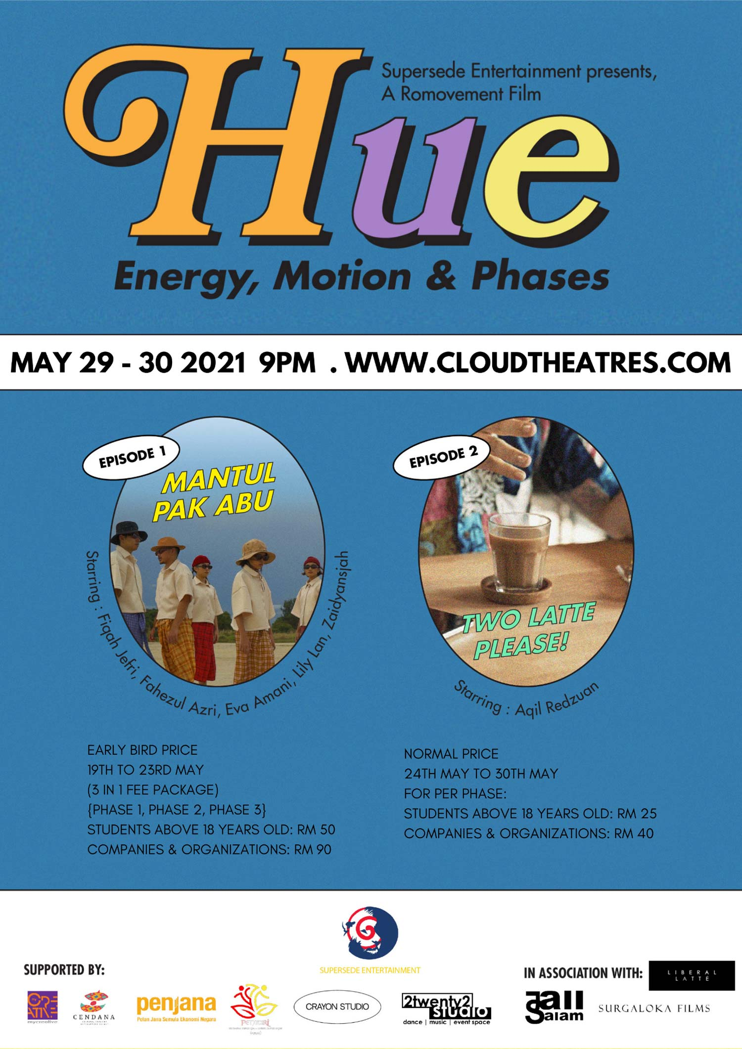 HUE (Phase 1): Energy, Motion & Phases | A Romovement Film